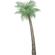 Walls of The Wild 160111 Palm Tree Small Wall Decal