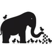 WallCandy Elephant Repositionable Chalkboard Wall Decal