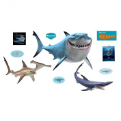 Fathead Finding Nemo Sharks Wall Graphic 74-74519