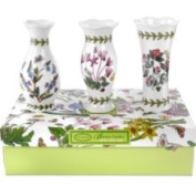 Portmeirion Vases, Set of 3 Botanic Garden Mini 430549