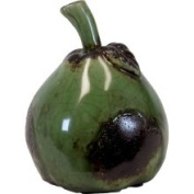 Urban Trend Green Large Pear Ceramic Accent Piece