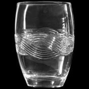 Dale Tiffany GA80589 Transitional Clear Crystal Braid Vase Crystal, HO