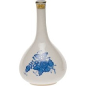 Herend Chinese Bouquet Blue Bud Vase, 5.25 H