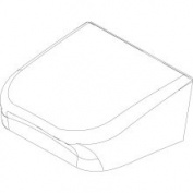 Kohler 1109092-96 Replacement Hinge Base Cover Biscuit, Hinge