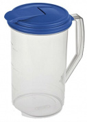 Sterilite 04864106 Beverage Pitcher, Round, BPA-Free Plastic, 1.9ls.