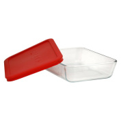 Pyrex Storage Glassware, 3 Cup, with Lid