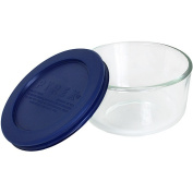 Pyrex Storage Dish, Round with Lid, 1-cup
