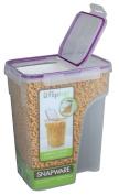 Snapware 4014 22.8-Cup Jumbo Flip Top Rectangle Cereal Keeper