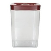 Click Clack Cube 4.3l Storage Container with Red Lid