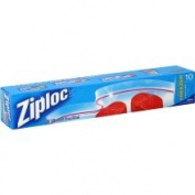 Ziploc Double Zipper Freezer Bags 2 Gallon 10 ct