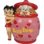 Betty Boop Heart Deco Cookie Jar