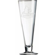 Louisville Cardinals 470ml Deep Etched Classic Beer Pilsner Campus Crystal