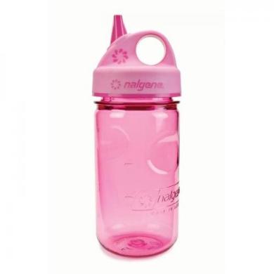 Nalgene Grip-N-Gulp Water Bottle (purple, 350ml)
