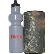 Western Recreation Ind 8385 Water Bottle with Camo Insulated Carrier