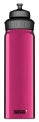 Sigg - Aluminium Water Bottle Wide Mouth Slim Purple - 0.75 Litres