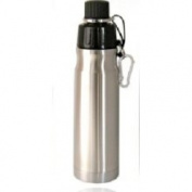 Good Life Gear SF6019 SS 16 oz. BPA Free Double Wall Vacuum Insulated Water Bottle - Stainless Steel