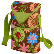 Picnic at Ascot Double Bottle Carrier -Floral - 412F