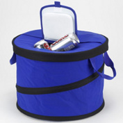 Picnic At Ascot 394-RB Collapsible Party Tub Cooler - Royal Blue