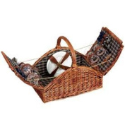 Household Essentials ML-2660 Willow Picnic Basket