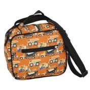 Wildkin 18006 Construction Original Lunch Bag, Orange