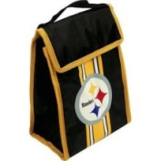 Forever Collectibles NFL Pittsburgh Steelers hook and loop Lunch Bag One Size