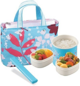 Zojirushi 720ml Mini Bento Stainless Steel Lunch Jar Colour