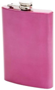 Maxam KTFLKPNK 8oz Stainless Steel Flask-pink