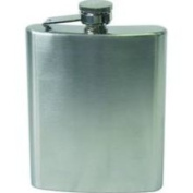 Chinook Stainless Steel Hip Flask; 240ml - GSP 55123