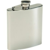 Texsport 13405 - Stainless Steel Hip Flask, 240ml