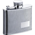 Visol VF1160 Sparkle Diamond Stainless Steel 120ml Hip Flask