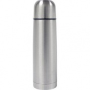 HDS Trading VF00343 Bullet Flask 0.5 Litre Stainless Steel Finish