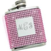 Creative Gifts International 021011 Pink Crystal Flask