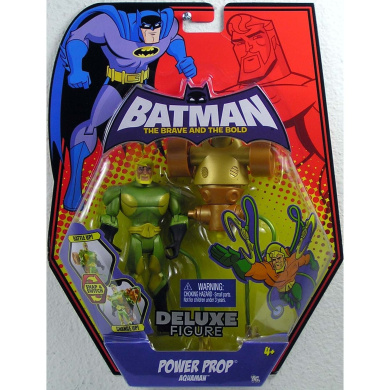 Batman Brave and the Bold Deluxe Action Figure Power Prop Aqua Man
