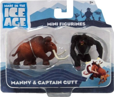 Ice Age Continental Drift Movie Mini Figure 2PackManny Captain Gutt