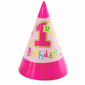 Hugs & Stitches Girl Party Hats