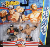 JOHN CENA & RANDY ORTON - WWE RUMBLERS TOY WRESTLING ACTION FIGURES