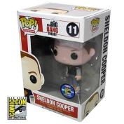 Big Bang Theory Sheldon Black Superman Pop! Vinyl Figure