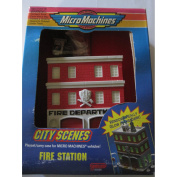 Micro Machines City scenes playset/carry case for micro machines Vehicles Fire Station