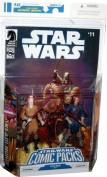 Star Wars Comic Packs KI-ADI-MUNDI & SHARAD HETT Star Wars #11 Action Figures & Comic Book Set