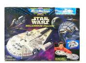 1995 Star Wars MicroMachines Millennium Falcon Miniature Playset