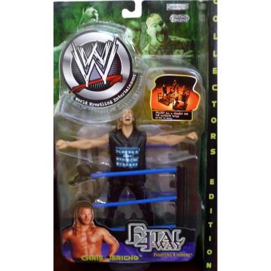 CHRIS JERICHO WWE WWF Jakks Pacific Toy Figure Fatal 4-Way Fighting 4-Siders Series 3