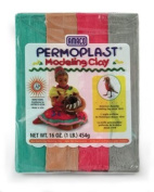 90091E X34 Earth Asst Permoplast 0.5kg AACY0091 AMERICAN ART CLAY CO.
