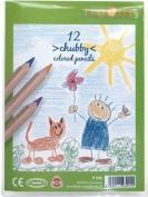 Alvin P005 Chubby Coloured Pencils Set