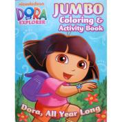 DORA the EXPLORER colouring & ACTIVITY BOOK A DORA