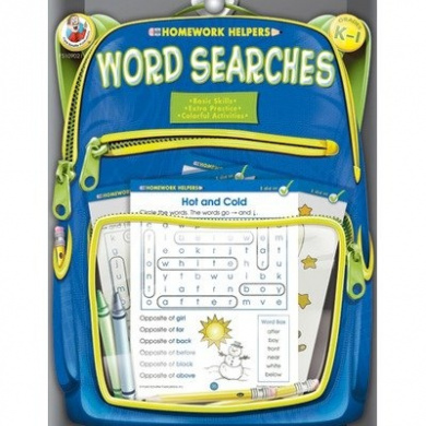 Homework Helper Word Searches K-1