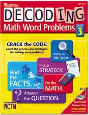 LEARNING RESOURCES DECODING MATH WORD PROBLEMS GRADE3