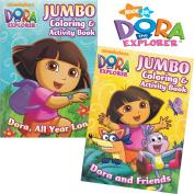 Dora the Explorer Colouring Book Set