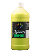 Rock Paint- Handy Art RPC203710 Little Masters Yellow 32Oz Tempera Paint