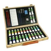 Reeves Superior Colour Acrylic Wood Box Set