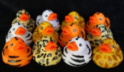 Safari Rubber Duck 12 Floating Duckies